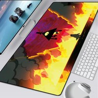 Mouse Pads & Wrist Rests XXL Soft Large Pad Gamer Waterproof Desk Mat Computer Mousepad Keyboard Table Rubber No-slip Anime Big Mause