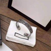 Designer bijoux Bangle d'acier en acier inoxydable de luxe Simple Cross Motif boucle Boucle d'amour Bijoux Femme Mens Bracelets Panier de marque