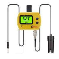 Meter-Tester-Wasserqualität Online-Monitor PHTEMP PH-991 Accasiatimeter Analyzer für Aquarium Swimming Pool pH-Meter