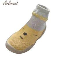 First Walkers Arloneet Обувь рожденная девушка детская зимняя мультфильм кроссовки детей мальчик хлопок противоскользящие носки