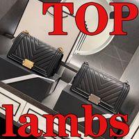 5A Top Qualität Marke Luxus Designer Frauen Taschen 2021 Kaviar Leder Schulter Geldbörse Schwarz Gold Silber Kette Crossbody Clutch Pochette Umschlag Tasche Brieftasche Großhandel