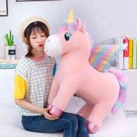 Verbato Peluche Giocattoli Creativo Nuovo Tiktok Angel Angel Unicorn Cavallo Della Bambola regalo