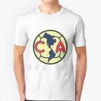 Men's T-Shirts Club America Logo T Shirt Cotton Men DIY Print Cool Tee Las Águilas De Fútbol América S A C V