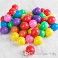 Marine balle coloré balle douce plastique molle boule d'océan drôle enfants sable pit bébé jouets eau piscine amusant boules de vague de piscine extérieur jouer yfa204