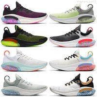 Atacado de Alta Qualidade Novo Joyride Run FK Malha Masculina Homens Mulheres Running Roxo Sail Light Silver Ocean Ocean Show Shoes 36-45