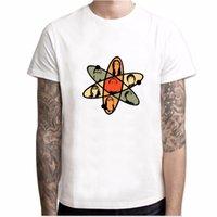 The Big Bang Theory Männer T-Shirt Rock Paper Schere Eidechse Spock Sheldon Cooper Tops Kurzarm T-Shirt Bazinga T-Stück YH040Soccer