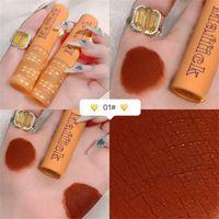 Lip Gloss 6 Colos Matte Glitter Lipstick Moisturizing Female Make Up Waterproof Long Lasting Women Maquiagem Cosmetics