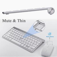 2.4G Keyboard Mouse Combo Set Multimedia Wireless And For Notebook Laptop Mac Desktop PC TV Office Supplies1