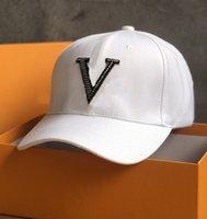 Buchstaben Hut Mode Lässige Baseballmütze Hochwertige Diamant-besetzte Hut Paar Hut Cover The Sun Cap Trend Zubehör Versorgung