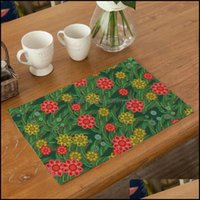 Tovaglie Tessile Casa Gardenable Runner Fuwatahi Semplice modello Placemat Style Style Style Tool Tool Tableware Pad Place Mat fo