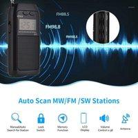 Ricevitore antenna Pocket Retroilluminazione radio FM MW SW TF Card ANTENNA Ricevitore multifunzionale Radio1