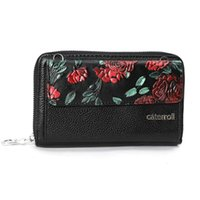 Wallets Cow Leather Women Floral Woman Purse Large Capacity Female Phone Bag Womens Crossbody Bags
