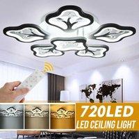 Ceiling Lights Modern Led Chandelier 720LEDs Lamp 6T For Living Study Room Bedroom AC110-220V Fixtures