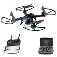 Drone com câmera HD 720p wifi transmissão em tempo real quadcopter rc helicóptero um botão retorno 360 ° rola sobre brinquedos drones