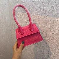 Handtasche Französische Romantik Tasche Designer Verschiedene Original Show Methoden Palm Muster Französisch Crossbody Bags Style Von mehreren Tote Leder JNKX