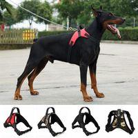 Dog Collars & Leashes Pet Cat Harness Medium And Large Pets Training Explosion-proof Vest Harnesses Adjustable Walking Lead Harnesse