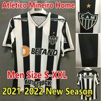 2021 2022 Clube Atletico Mineiro Soccer Jerseys 21/22 Sasha Vargas M.Zaracho Football Jersey Guga Keno I.Rabello d.Tardelli Uniformen Camesa de Futol Uniform