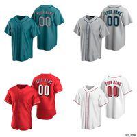Fai da te personalizzato cincinnati seattle baseball jersey usura Numero Numero Numero Armand Patch Team Cresta Uomini Donne Giovani Bambini Formato Atletico Atletico Atletico Appeato Appeare
