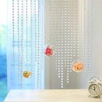 Decoração do partido 14mm cristal claro acrílico grânulo pendurado casamento valentine aniversário decoração árvores