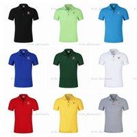 Vegas Altın Knights Tees Polo Gömlek Rahat Iş Fanı Özel Kısa Kollu T-shirt Klasik Giyim Yaz Sokak Moda B74