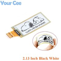 Integrated Circuits 2.13 Inch Flexible E-Ink Display Module Black White E-paper Panel 212x104 Ink SPI Interface Diy Electronic For Raspberry