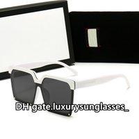 고품질 여자 선글라스 광장 전체 프레임 패션 2021 클럽 클래식 파티 GU561 럭셔리 편광 UV400 운전 고양이 눈 썬 유리 des lunettes de soleil
