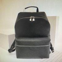 M30230 Discovery Zaino Lussurys Designer Designer Zaini Uomo Fashion Genuine Pelle Viaggi Back Pack Classico Sport all'aperto Sport da passeggio Scuola maschile Pacchetti Pacchetti