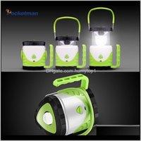 Linternas portátiles Super Bright USB CARGA LED TRABAJO BATERIA BATERÍA Foco de la batería Lámpara de mano Camping Linterna Linterna Multifunción Luz Arngy