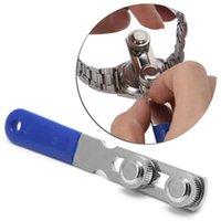 수리 도구 키트 시계 백 케이스 커버 오프너 조정 가능한 리무버 렌치 시계장