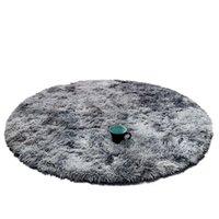 Carpets DannyKarl Kids Bedroom Antiskid Soft Cm Living Room bedroom Round Rug Carpet Modern Mat Purpule White Pink Gray Sofa Kid