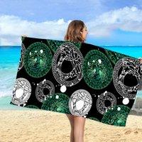 Verschiedene Stile Schöne Farbkombination Handtuch Reise Essential Beach Private Custom Custom Custom Professional Designer Produkte