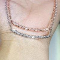 Choucong бренд роскошные ювелирные изделия 925 стерлингового серебра 925 белый сапфир CZ алмазные драгоценные камни улыбка подвеска вечеринка женщин свадьба клейкое ожерелье для любви подарок