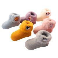 Lawadka çorap bebek için 3d nakış karikatür yenidoğan bebek çorap kış sıcak kalın bebek kız erkek çorap bebekler için 938 x2