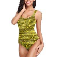 Women 2021 Exotic Bikinis AWESOME, Use Caution Swimsuit One Piece Bikini R336 Beach Wear Women's Swimwear