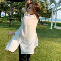 Women's Suits & Blazers Women Summer Thin Loose Simple Lady Elegant Office Sun-proof Clothing Korena Style Ulzzang All-match Mujer Leisure C