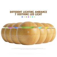 الكلاسيكية الخشب الحبوب الصغيرة usb المرطب المنزلية مصغرة سطح المكتب الروائح الناشر 2 الألوان اختياري المصنع مباشرة بالجملة