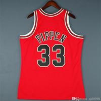 Personalizado 009 Juventude Mulheres Vintage Scottie Pippen Mitchell 98 Finais Colégio Basquete Jersey Tamanho S-4XL ou Personalizado Qualquer nome ou Número Jersey