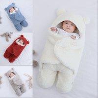 Soft Newborn Baby Wrap Blankets Baby Sleeping Bag Envelope For Newborn Sleepsack 100% Cotton thicken Cocoon for baby 0-9 Months 1163 X2