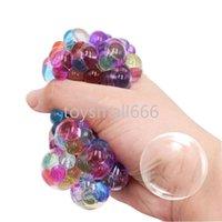 Uva espremer bola malha empurrar bolha fidget brinquedos espremo glipbles anti bolas de estresse brinquedos de descompressão para crianças adulto CPA3299