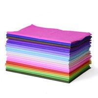 Diğer Sanat ve El Sanatları 38 Sayfalık / Paket Çok Amaçlı Şarap Tek Renk Doku Çiçek Ambalaj Kağıt Buket DIY Dekorasyon El Yapımı Zanaat Hediye W