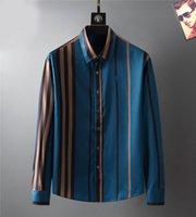 مصمم رجل فستان أزياء عارضة قميص العلامات التجارية الرجال ربيع الخريف يتأهل قمصان القميص de marque pour homes5689