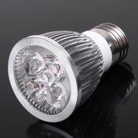 Ampoule LED 5W 85-265V E27 Spot blanc chaud à LED lampe de lampe d'ampoule