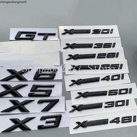 XDrive 20i 25i 28i 30i 35i 40i 48i 50i 20D 28D 30D 35D 40D 48D 50D için BMW X3X4X4 x 5 x 6 x7 Araba Çamurluk EMBLEM Rozet