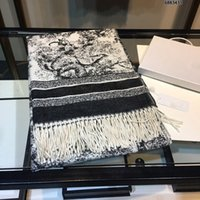 2021 Klassisches Design Schal für Männer und Frauen Winter Kaschmirschals Big Letter Animal Print Muster Cashmere Pashminas Tücher Schals
