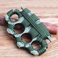 Parmak Toka Metal El Dört Yumruk Mücadele Çelik Kapak Savunma Tiger Sting Dövüş Sanatları Blade Taktikleri CRXB702