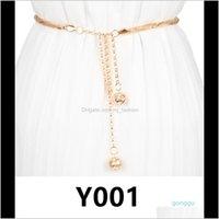 Fibbie Cinture Fashion Aessories Drop Consegna 2021 Luxury- Y001-Y005 Vintage Donne Girl Girl Belt GRAZIO GRAZIE GIORNO Olio