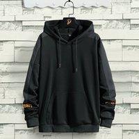 Hip Hop Hoodies Mens 2021 Autumn Casual Pullover Sweats Hoodie Male Fashion Streetwear Men Sweatshirts Hooded Male Tops