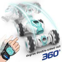 2.4G Mini telecomando RC ROTORE AUTO AUTO RUOTO ROTARY DOPPIO STORT STORT Gesto Induzione Twisting Drift Drift Auto fuoristrada Dancing car car