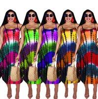 summer sleeveless loose dress womens one piece dresses mid calf high quality slim elegant luxury clubwear women clothing S M  L XL XXL T645