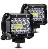 4 pollice 18W LED Light Light Bar Driving Lamp 4x4 SUV ATV in 12V 24V per camion dei trattori